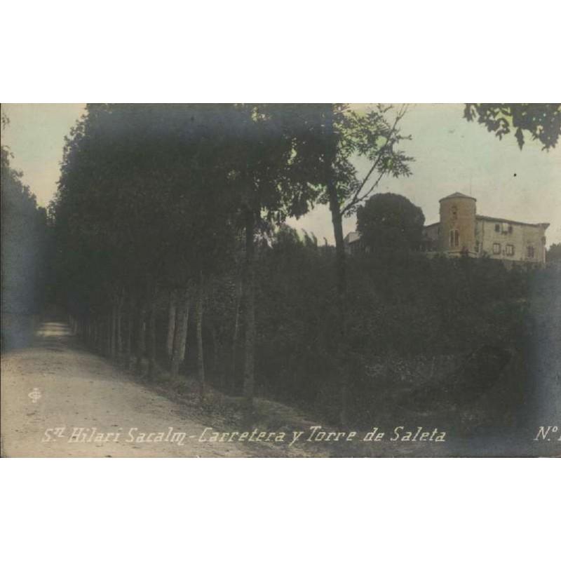 Carretera i Torre de Saleta, Sant Hilari Sacalm.
