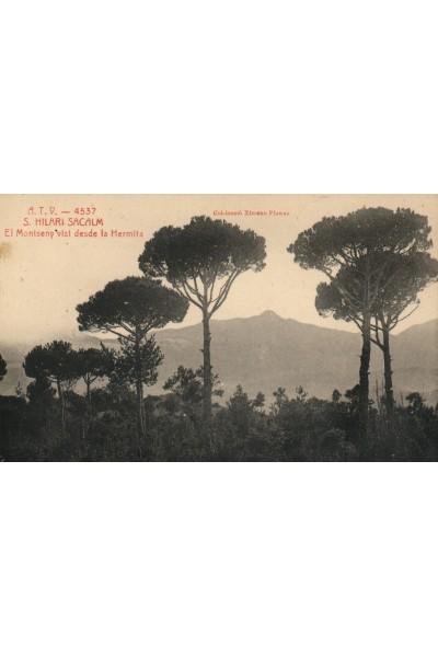 Montseny vist desde l'Ermita, Sant Hilari Sacalm