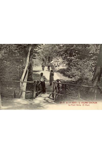 La Font Vella. El Pont. San Hilari Sacalm