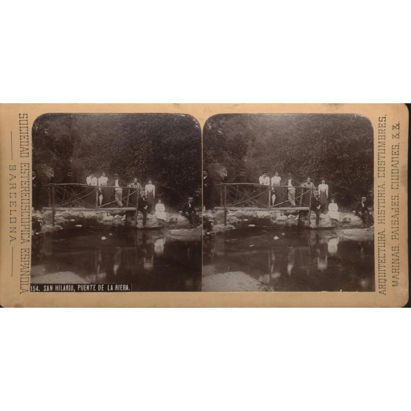 Pont de la Riera, Sant Hilari Sacalm