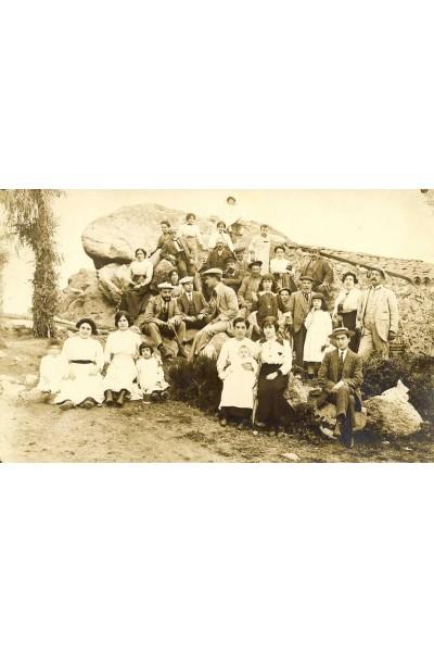 Grup a la Roca d'en Pla, Sant Hilari Sacalm