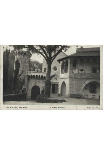 Sant Hilari Sacalm, Castillo Monsolís