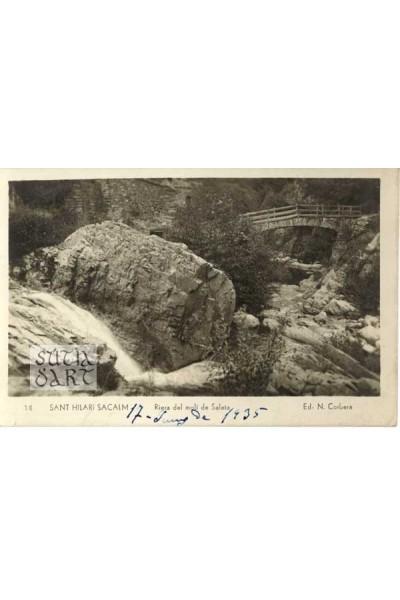 Sant Hilari Sacalm, Riera del molí de Saleta