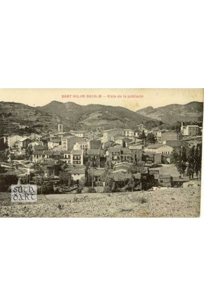 Sant Hilari Sacalm, Vista de la població