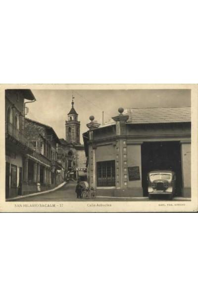 Sant Hilari Sacalm, Calle Arbucias amb en Jaumet
