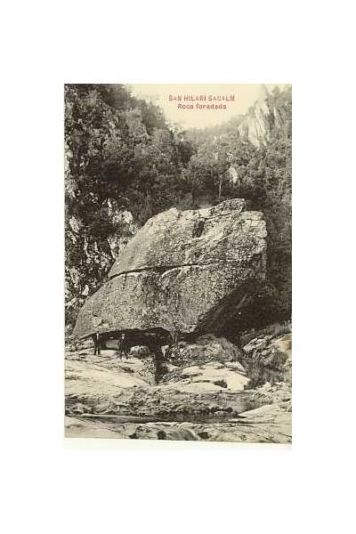 Roca Foradada, Sant Hilari Sacalm.