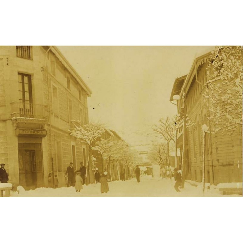Nevada de 1910, Sant Hilari Sacalm.