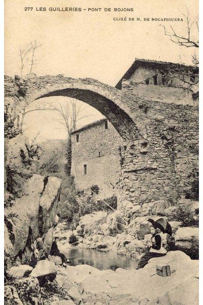 Pont de Bojons, Guilleries