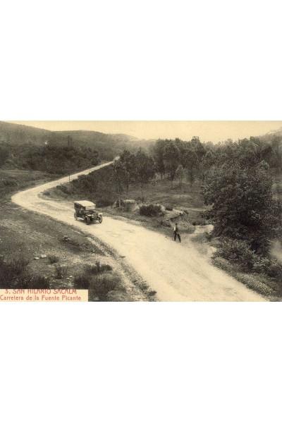 Carretera de la Font Picant, Sant Hilari Sacalm