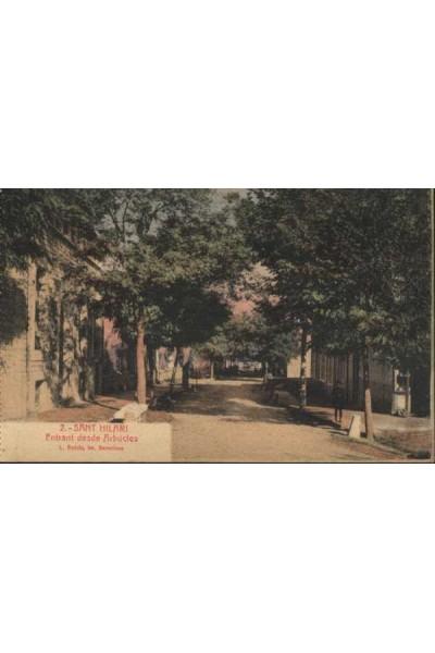Sant Hilari Sacalm, Entrant desde Arbúcies