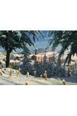 Sant Hilari Sacalm, paisatge d'hivern