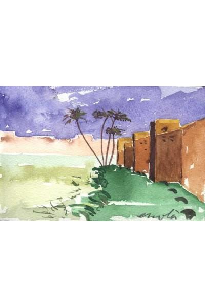 Postals de Marrakech, Muralles de Marrakech