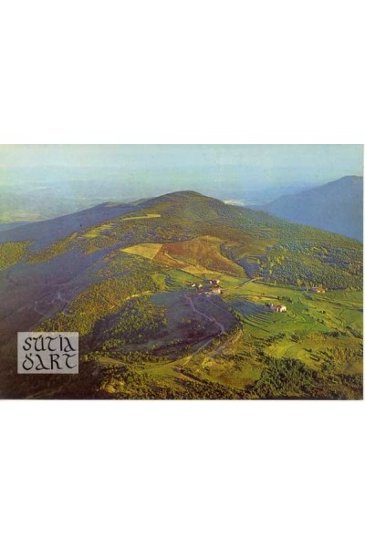Sant Martí Sacalm, Vista panoràmica desde el Far